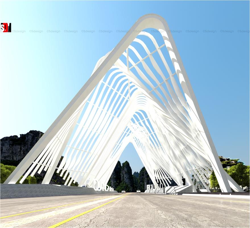 Interior Design Design News: Quảng Ninh / Provincal Gate Dong