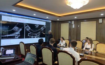 Sdesign báo cáo Bí thư Tỉnh ủy Nguyễn Văn Đọc về Công trình Biểu Tượng Hạ Long
