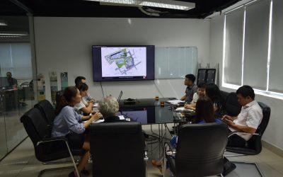 Buổi họp với đối tác Sơn Long