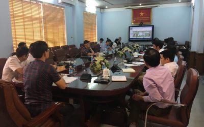 SDesign họp chủ trương cùng cán bộ lãnh đạo huyện Hoành Bồ